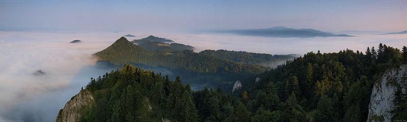 Panorama z Trzech Koron
