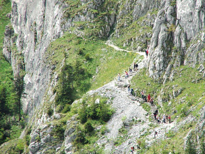 Ścieżka do Jaskini Mylnej