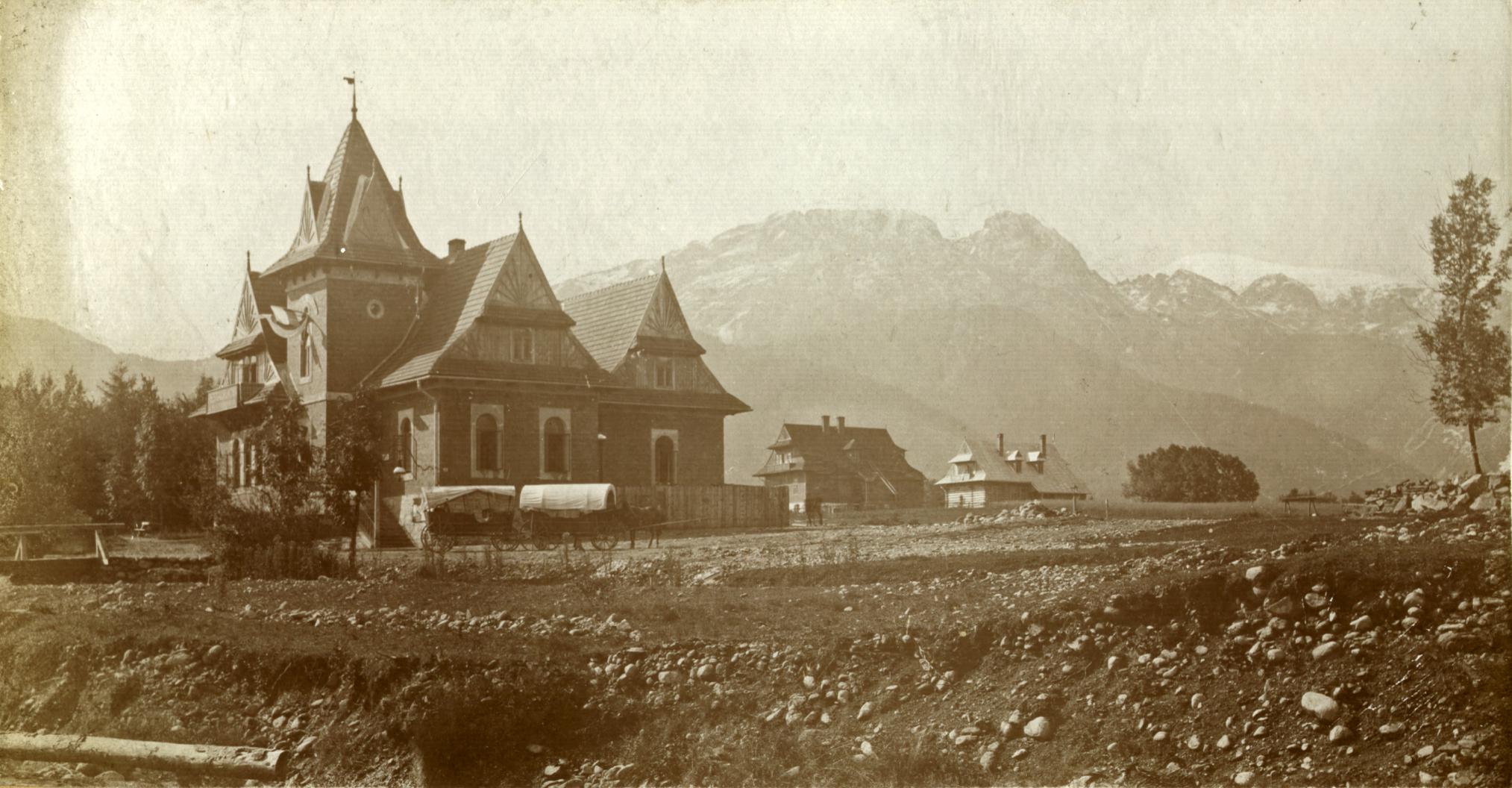 Murowany Dworzec Tatrzański, 1903 .r