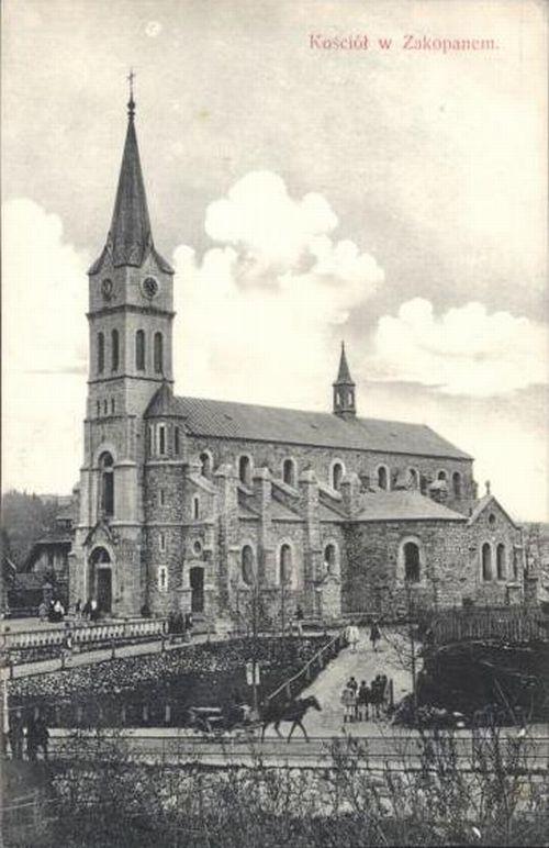 Kościół Św. Rodziny, 1910 r.