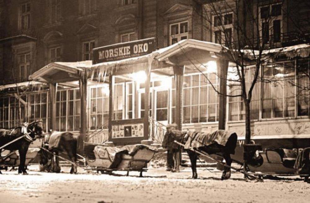 Hotel i restauracja 'Morskie Oko' przed wojną