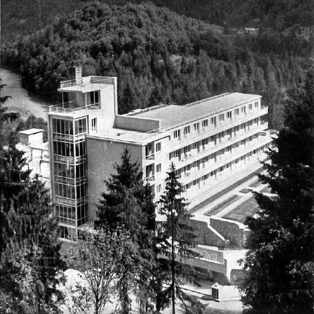 Sanatorium 'Wiktor' - 1934 r.