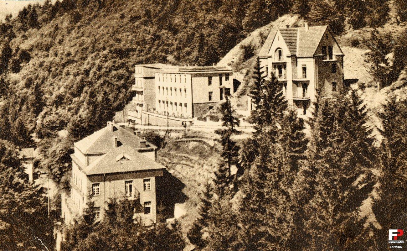 deptak i okoliczne sanatoria przed wojną
