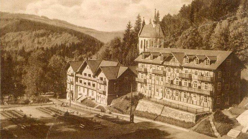 Żegotka, Karolówka (spłonęła), kościółek Św. Kingi - lata 30-te
