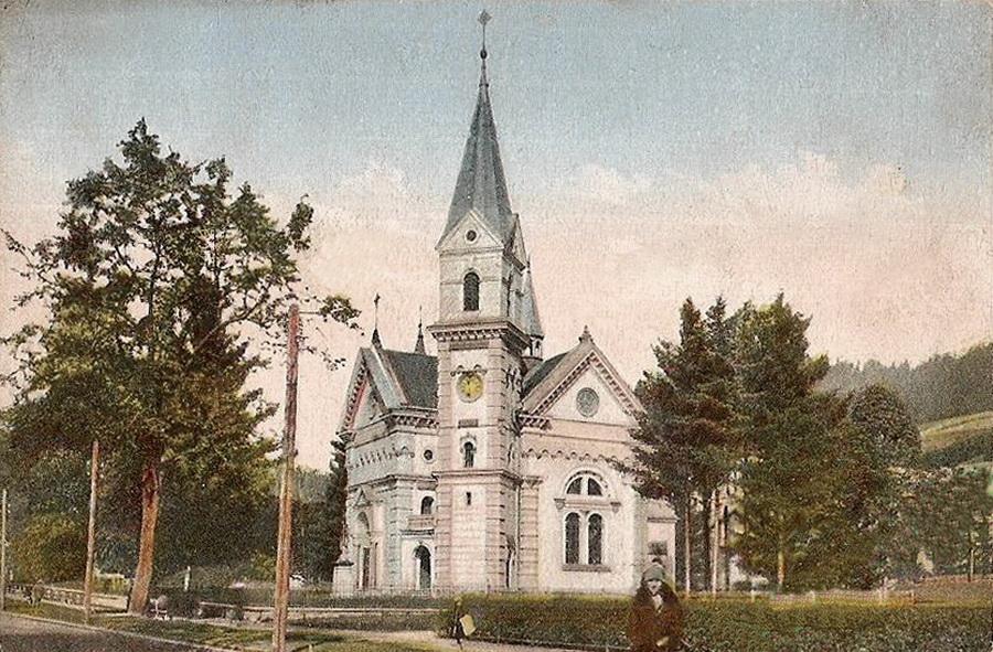W 1892 r. oddano do użytku Kościół Zdrojowy