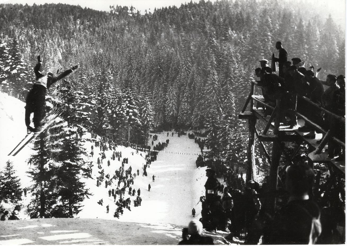 Krynica była drugim po Zakopanem ośrodkiem skoków narciarskich w Polsce