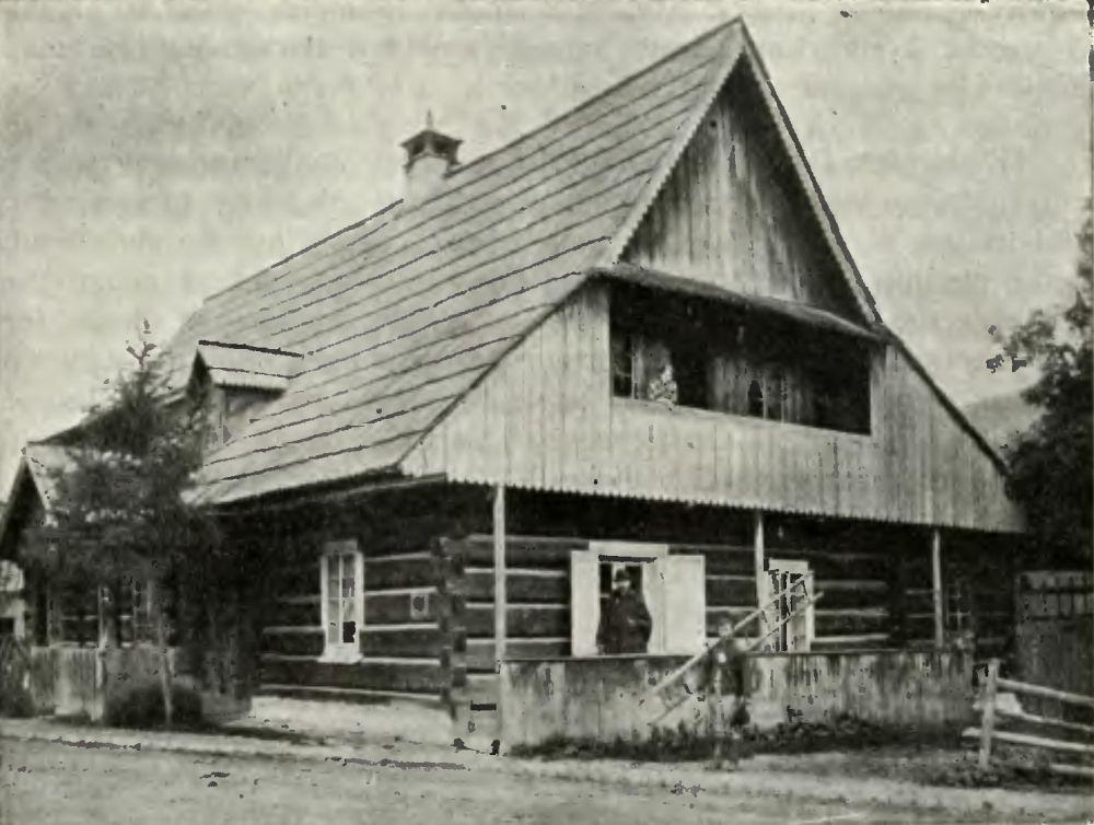 Dom rodziny Wnuków - 1870 r.