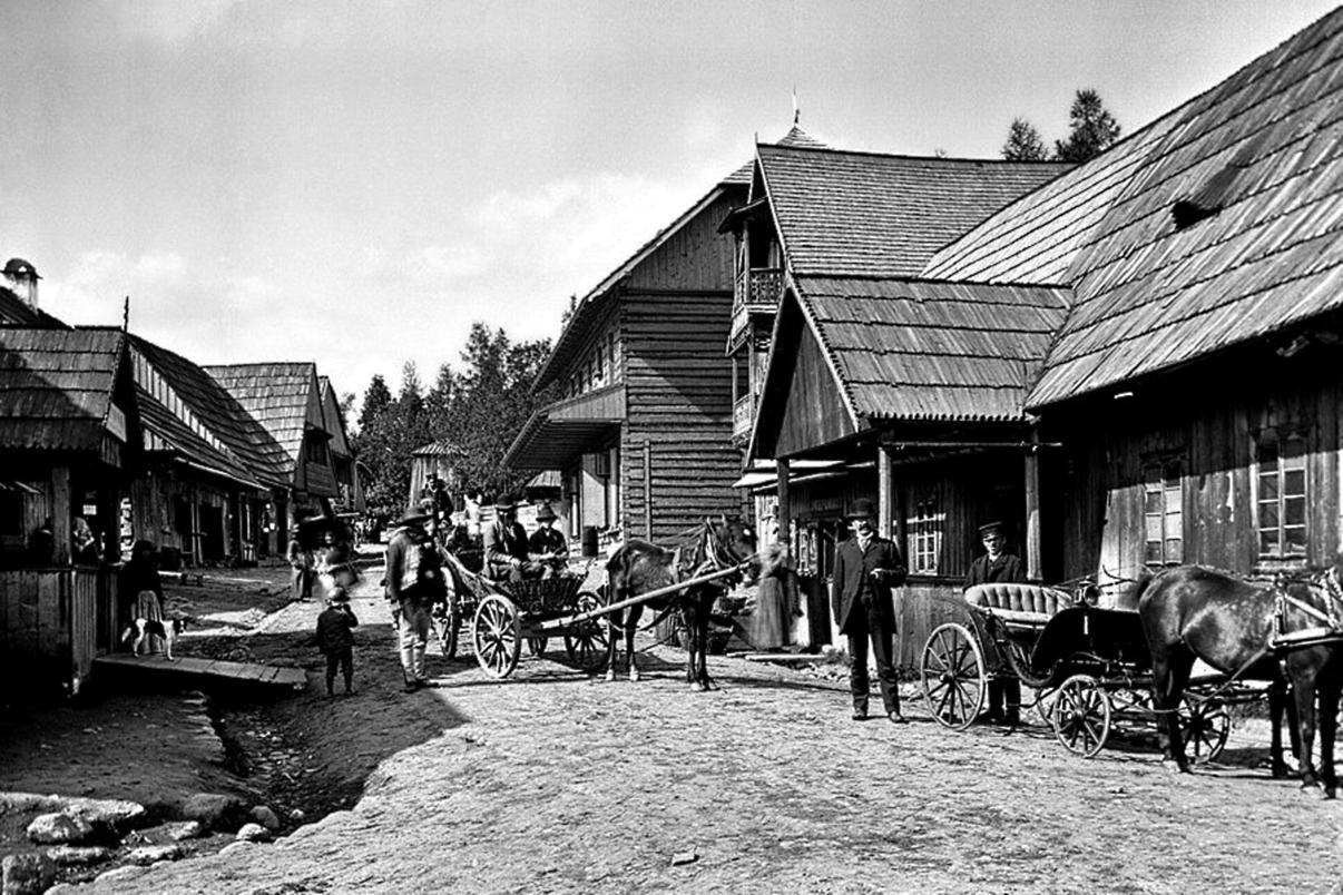 Nawsie pod koniec XIX w.