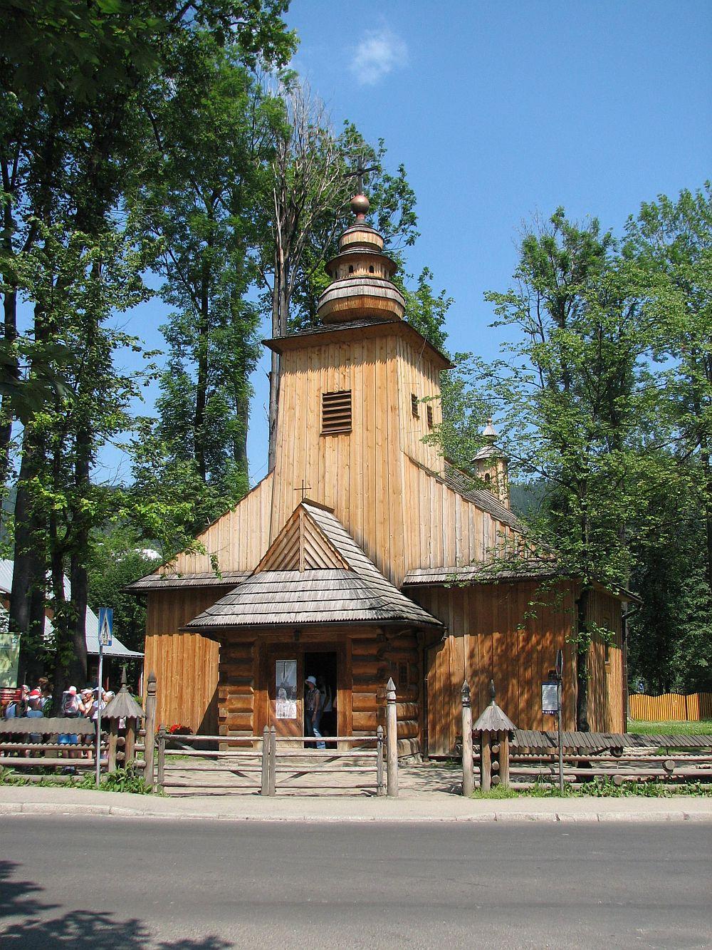 Stary Kościółek niedawno został gruntownie odrestaurowany