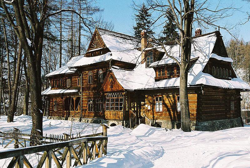Willa Koliba - pierwszy budynek w stylu zakopiańskim