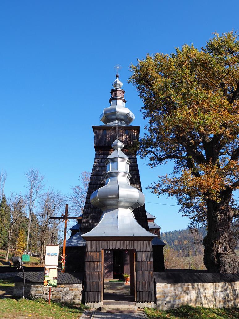 Cerkiew orientowana na Wschód, idealna symetria - tu nie ma przypadków, wszystko jest wynikiem tradycji.