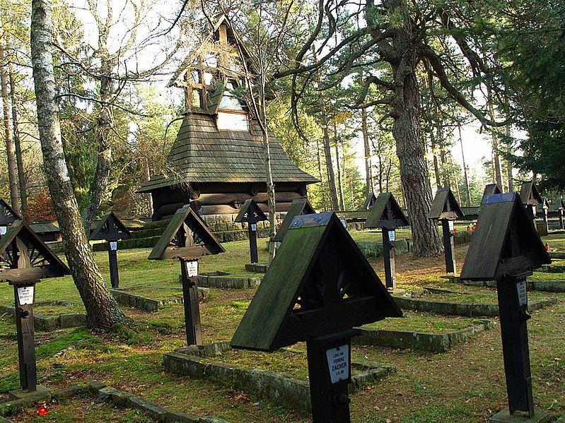 Cmentarz na Przełęczy Małostockiej.