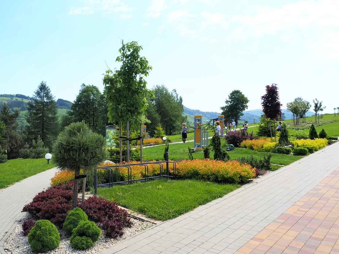 Ogród Zdrowia - siłownia na wolnym powietrzu.