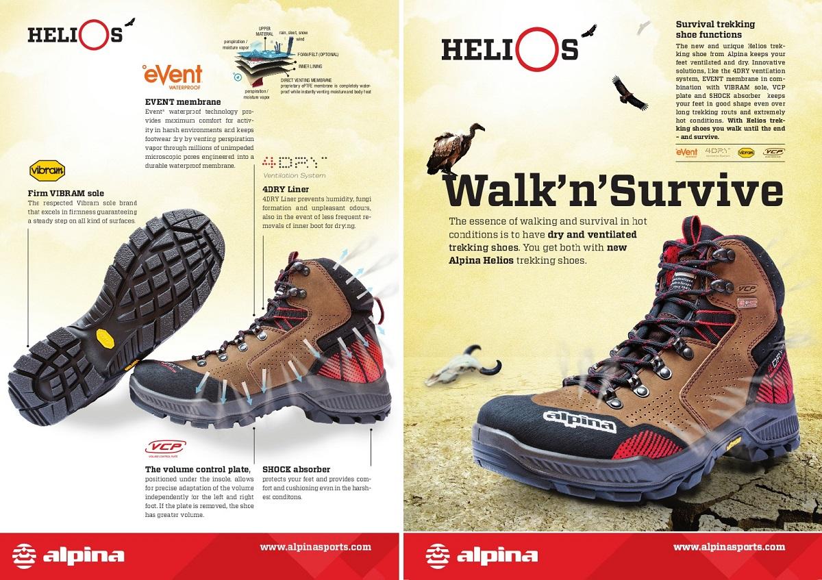 Schemat konstrukcji buta udostępniony przez Alpinę.
